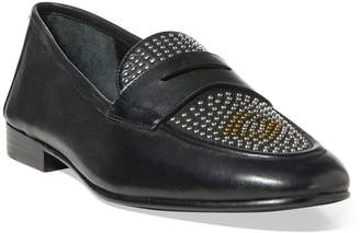 Ralph Lauren Ashtyn Studded Leather Loafer