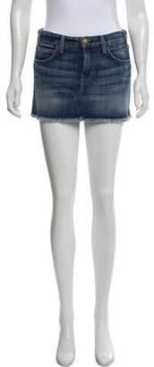 Current/Elliott The Fray Mini Denim Skirt blue The Fray Mini Denim Skirt
