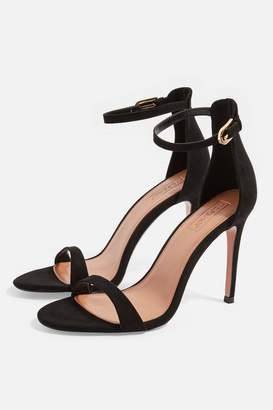 Topshop WIDE FIT Susie Two Part Sandals