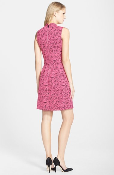 MARC NEW YORK by Andrew Marc Jacquard Fit & Flare Dress 5
