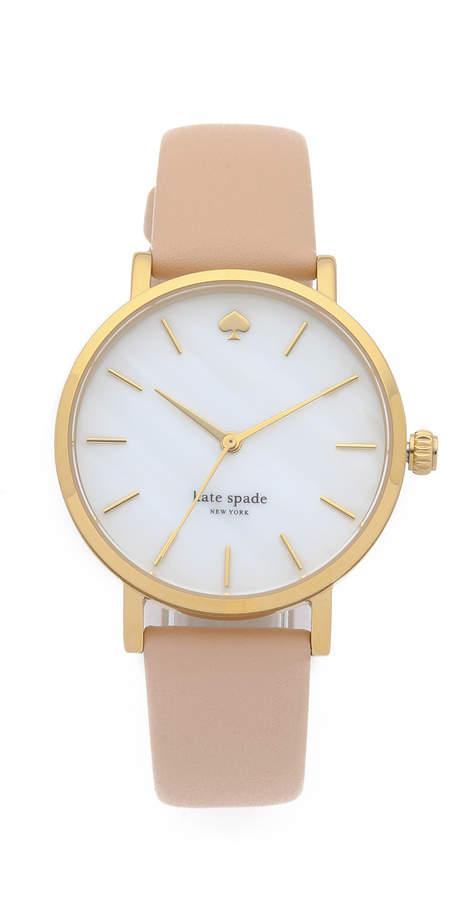 Kate Spade Metro Classic Watch