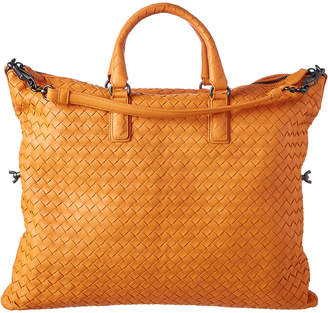 Bottega Veneta Medium Convertible Intrecciato Leather Shoulder Bag