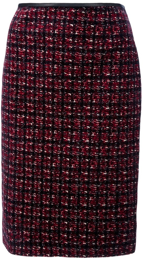 DSQUARED2 Knitted pencil skirt
