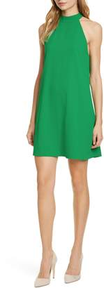 Alice + Olivia Susanna Mock Neck Sleeveless Swing Dress