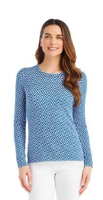 J.Mclaughlin Melanie Sweater in Diamond Swirls