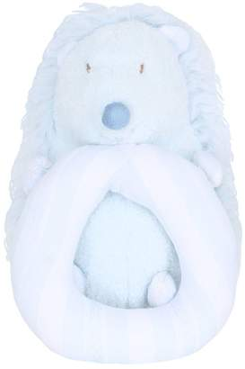 Tartine et Chocolat Faux Fur Soft Hedgehog Bell Toy
