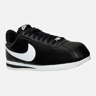 Nike Men's Cortez Basic Leather Casual Shoes