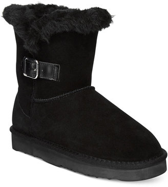Style & Co Tiny 2 Cold Weather Booties, only at Macy's $59.50 thestylecure.com