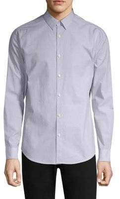 Theory Irving Cotton Button-Down Shirt