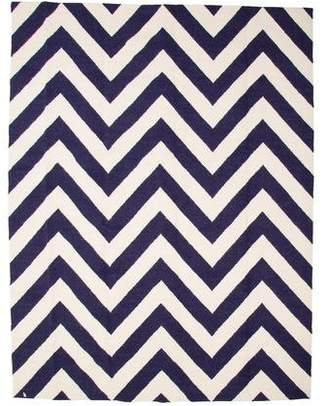Jonathan Adler Herringbone Peruvian Flatweave Rug 8' x 10' w/ Tags