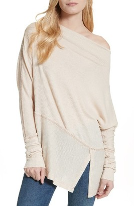 Women's Free People Londontown Thermal Tee $68 thestylecure.com