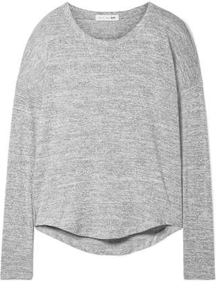 Rag & Bone Hudson Stretch-jersey Top - Gray