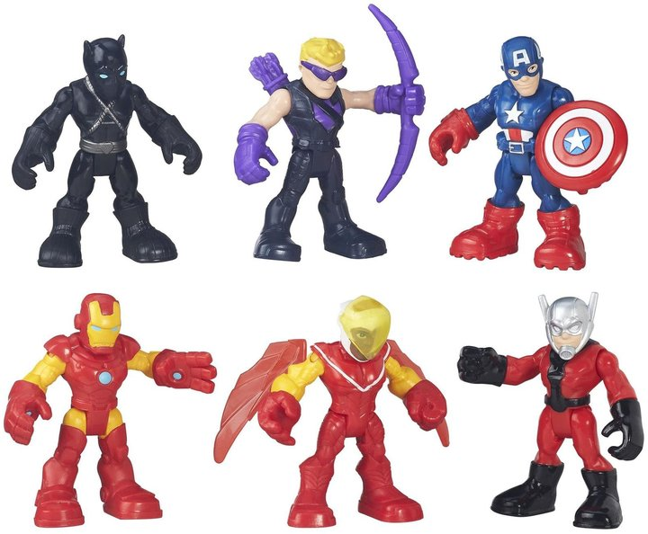 Playskool Super Hero Adventures Captain America Super Jungle Squad