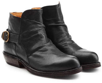 Fiorentini+Baker Carol Leather Ankle Boots with Buckles