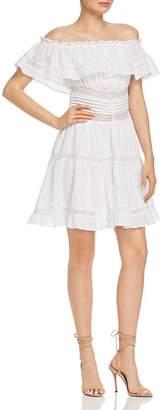 Rahi Desert Emma Lace-Inset Mini Dress