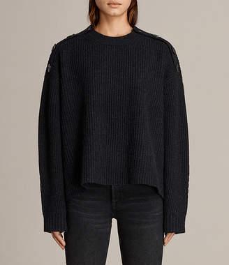AllSaints Faye Crew Neck Sweater