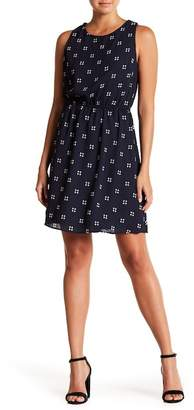 Collective Concepts Printed Halter Dress