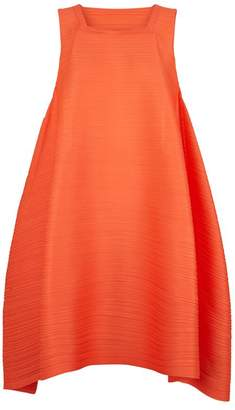 Pleats Please Pleated Trapeze Dress
