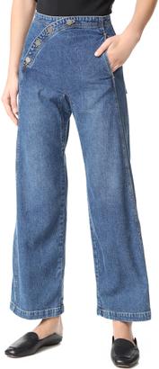 Rachel Comey Sailor Bishop Jeans $345 thestylecure.com