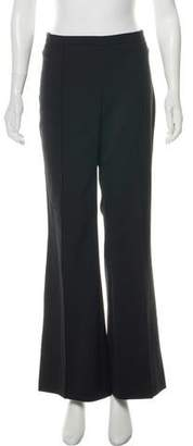 Andrew Gn High-Rise Wide-Leg Pants