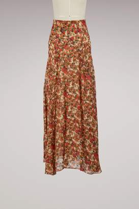 Isabel Marant Ferone silk skirt