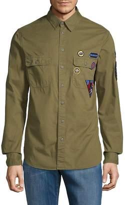 Zadig & Voltaire Men's Sigmund Disarmy Cotton Button-Down Shirt