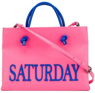 Alberta Ferretti small Saturday tote