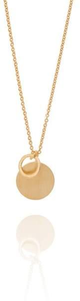 Styleserver DE Pernille Corydon Halskette Coin and Circle vergoldet