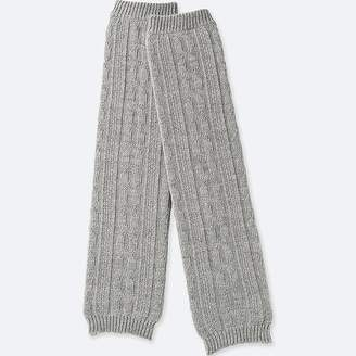 Uniqlo Women's Heattech Knitted Cable Leg Warmers