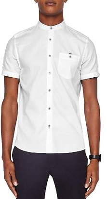 Ted Baker Gowntay Waffle Regular Fit Button-Down Shirt