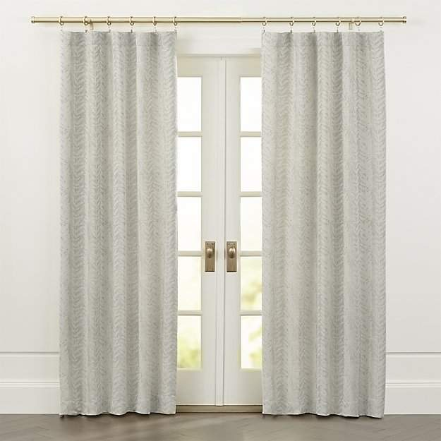 Ellis Leaf Pattern Curtains