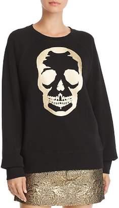 Aqua Foil Skull Sweatshirt - 100% Exclusive