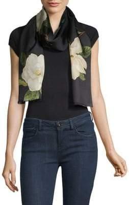 Lauren Ralph Lauren Floral Silk Scarf