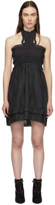Isabel Marant Black Gota Dress