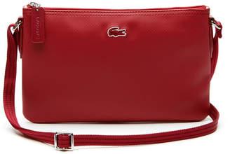 Lacoste Women's L.12.12 Concept Flat Crossover Bag