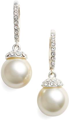 Givenchy Imitation Pearl Drop Earrings