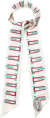Valentino X Zandra Rhodes graphic-print silk scarf