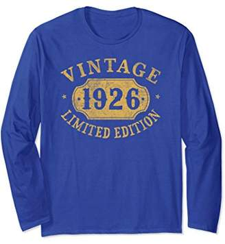 93 years old 93rd B-day 1926 Limited Birthday Gift Shirt