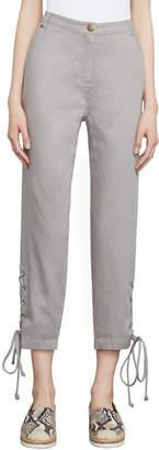 BCBGMAXAZRIA Chenille Cropped Pant