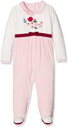 GUESS Girls' LS Romper Clothing Set,(Manufacturer Size: 9M)