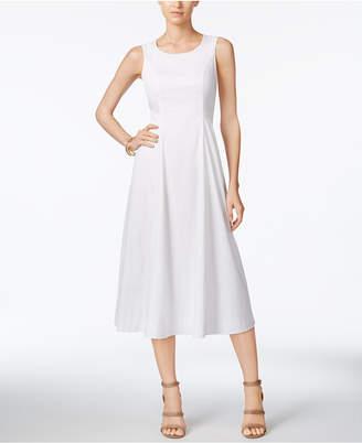 Alfani A-Line Midi Dress, Created for Macy's $119.50 thestylecure.com