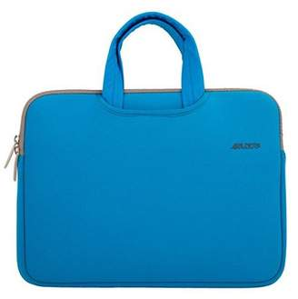 Mosiso Laptop Briefcase, Water Repellent Neoprene Carry Bag Sleeve for 15-15.6 Inch Laptop / Notebook Computer / MacBook Pro / MacBook Air(Internal Dimensions: 15.16 x 0.79 x 10.63 inches), Blue