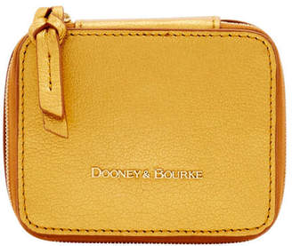 Dooney & Bourke Metallic Leather Travel Jewelry Case