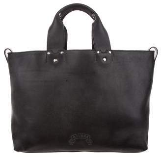 Ghurka Leather Large Tote