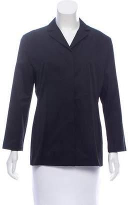 Calvin Klein Collection Lightweight Notch-Collar Blazer
