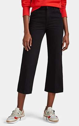 J Brand Women's Joan Crop Trouser Jeans - Black