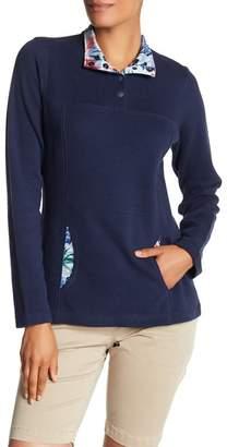 Tommy Bahama Lightweight Half-Snap Sweatshirt