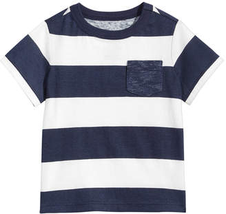First Impressions Toddler Boys Striped Cotton Rugby Shirt