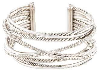David Yurman Diamond Crossover Cuff