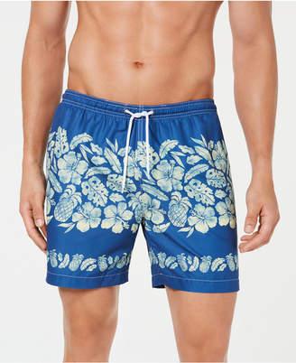 "Trunks Surf & Swim Co. Men Sano Tropical Print 7"" Volley Swim"